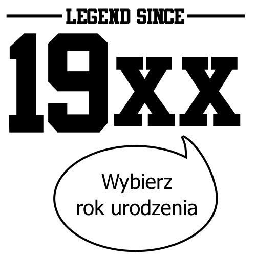 T-shirt Legenda od ...