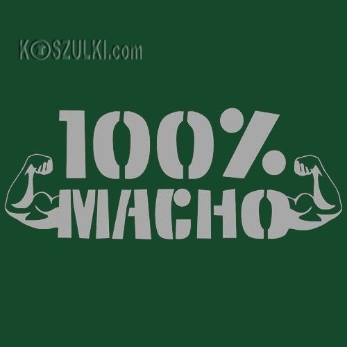 T-shirt 100% Macho