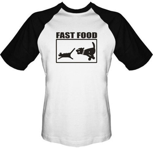T-shirt BASEBALL - Fast Food