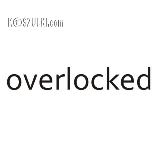 T-shirt Overlocked