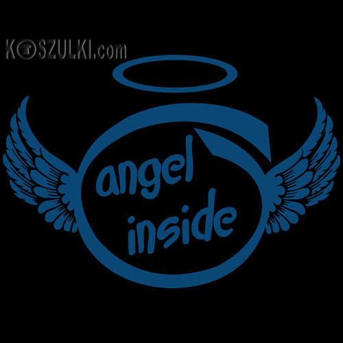 t-shirt Angel Inside