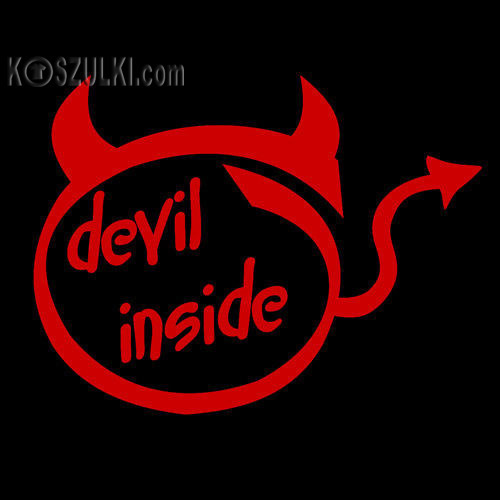 t-shirt Devil Inside