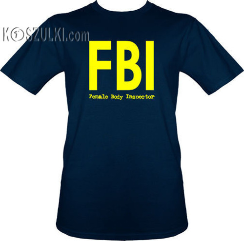 t-shirt Female Body Inspector-FBI