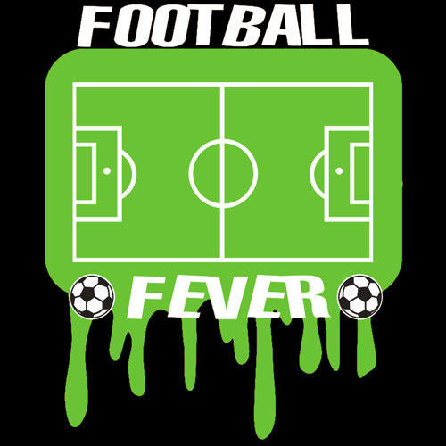 t-shirt T252 Football Fever Czarny