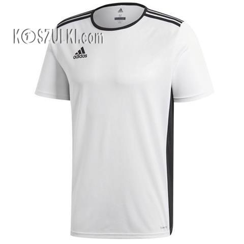 349b4c636 Koszulka piłkarska adidas Entrada 18 biała CD8438 | Męskie ...