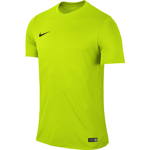 ba8643a66 KOSZULKA piłkarska NIKE PARK VI limonka 725891 657 Zielony neon ...