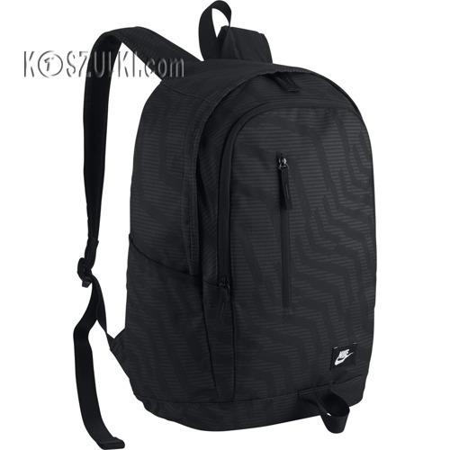 ed30ba4d9c82b Plecak Nike All Access Soleday Prin BA5231 013 czarny | Sportowe ...