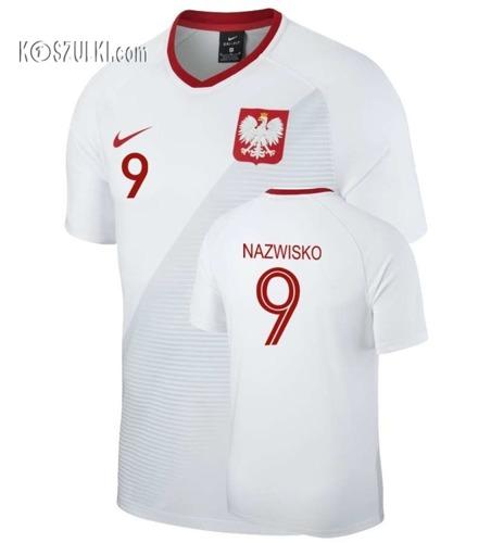 cb032009f Koszulki Reprezentacji Polski nike na Mś 2018 Koszulka Piłkarska Polska w  własnym numerem i nazwiskiem ,Adidas Puma.