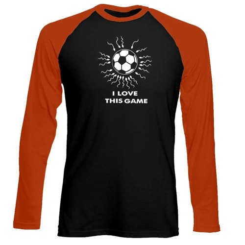 Longsleeve Męski  - I Love this Game-Football